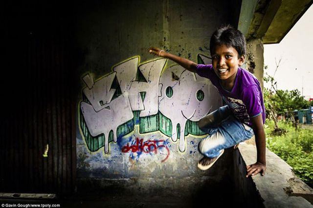 Фотограф Гевин Гу - фото индийского мальчика.
