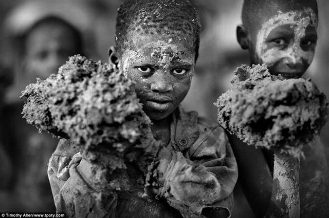 Фотограф Тимоти Аллен — фестиваль грязевой отделки