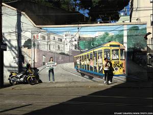 Фотограф Стюарт Дрепер - фото стрит-арта в Санта-Тереза, Рио-де-Жанейро