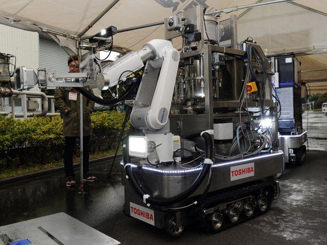Робот-очиститель Toshiba