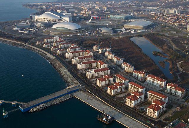 Олимпийская деревня Сочи 2014
