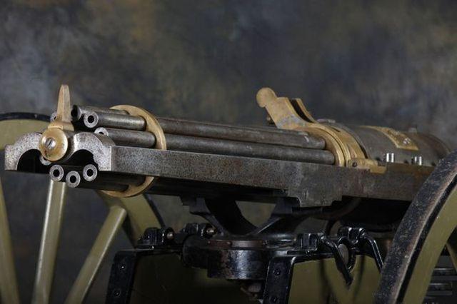 Пулемет Гатлинга - 50-70 калибр.