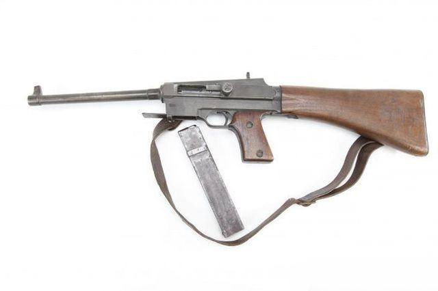 Пистолет-пулемет модели 1938 года.