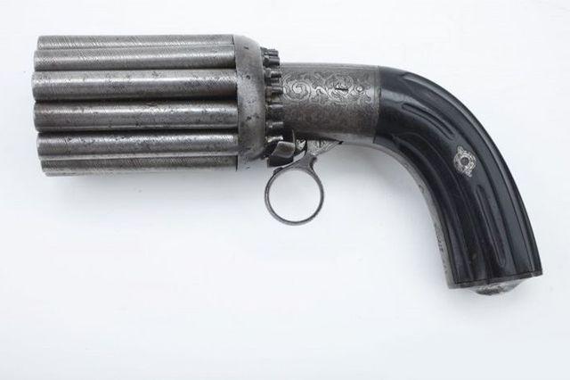 Многоствольный пистолет Мариэтта - 32 калибр.