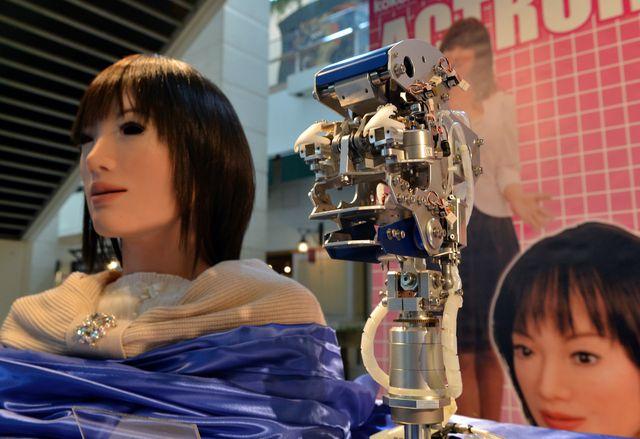 Человекоподобный робот компании Kokoro