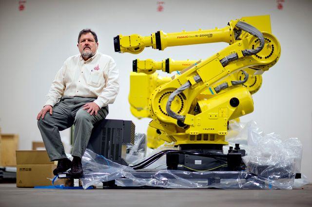 Новый высокопроизводительный промышленный робот