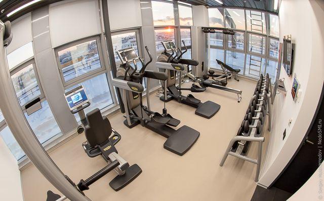 Небольшой фитнес зал