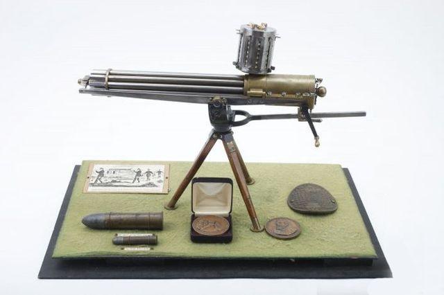 Миниатюрный пулемет Гатлинга - 11 калибр.