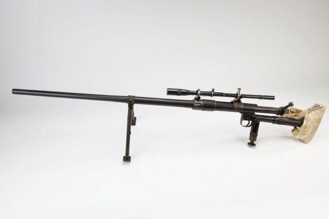Русская снайперская винтовка.