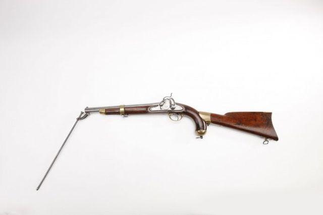 Пистолет-пулемет Спрингфилд, модель 1855 года.
