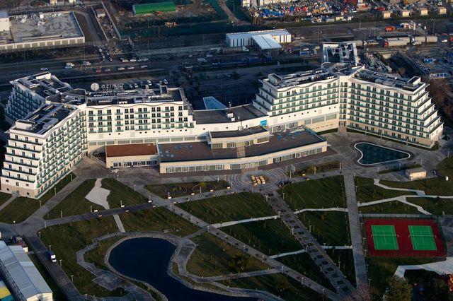 Азимут отель, 4 звезды в Олимпийском парке