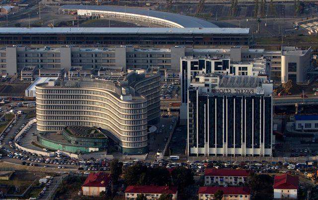 Здание оргкомитета олимпийских игр Сочи 2014