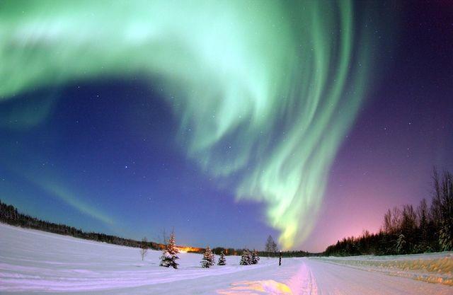 Аврора над Аляской