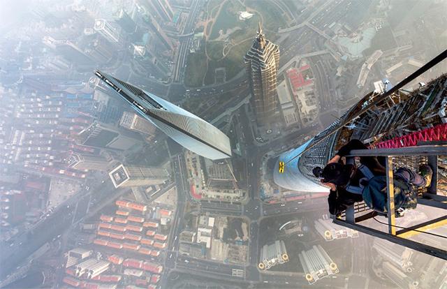 Башня в Шанхае