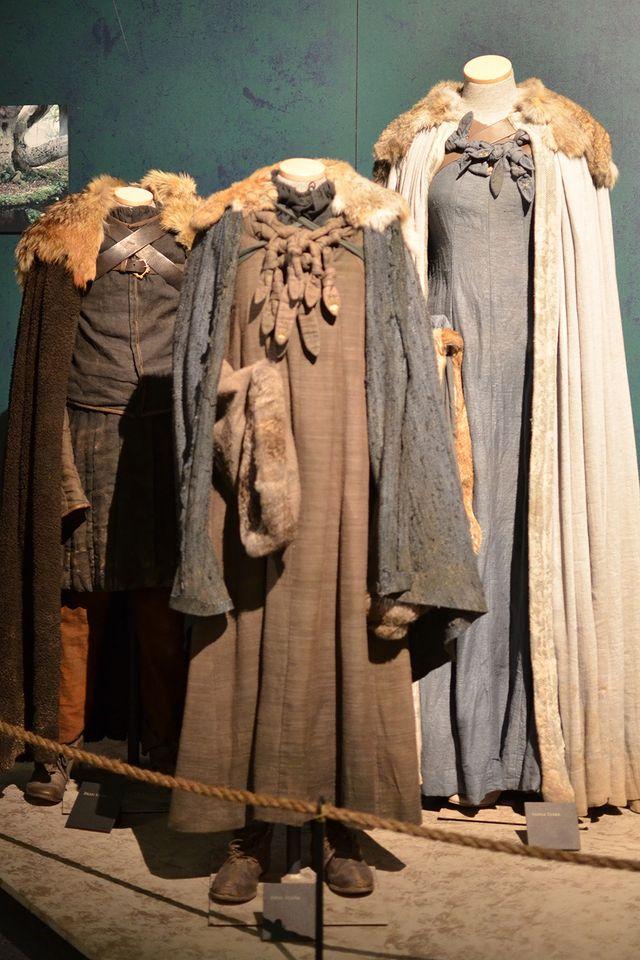 Детальные костюмы Старков