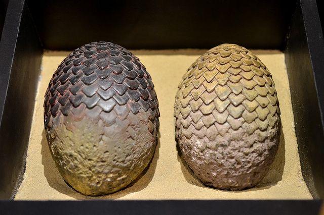 Яйца драконов Дейнерис Таргариен