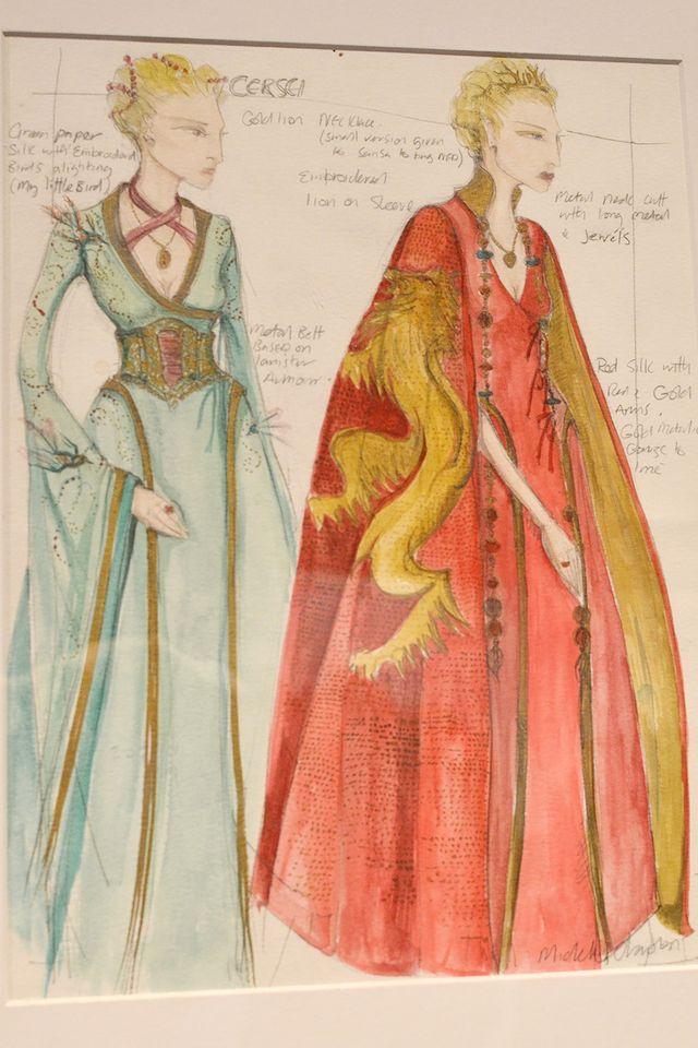Стиль одежды Серсеи меняется с ее характером