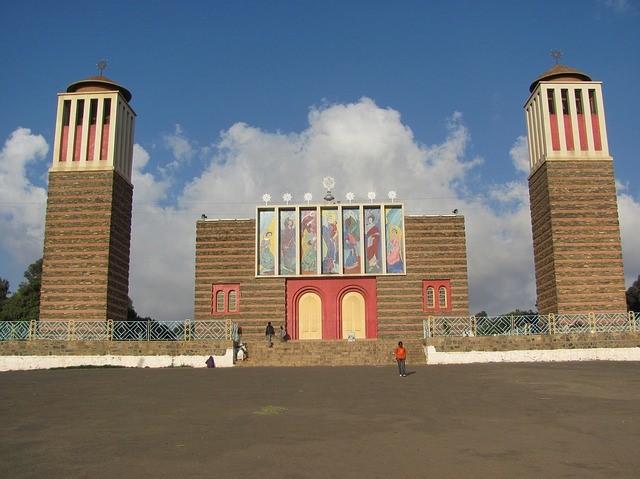 Коптская церковь Нда Марьям