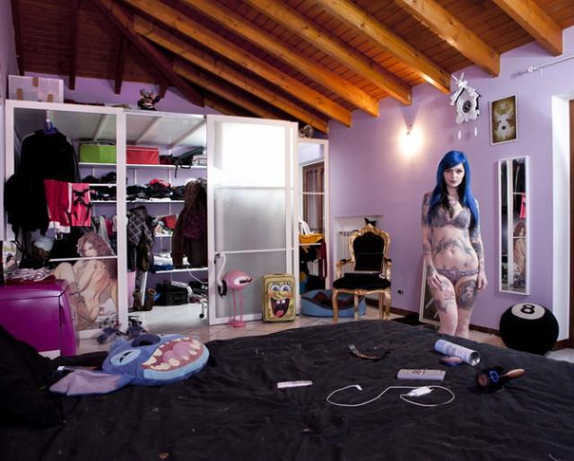 Девушки и их спальни: тайна, которая раскрыта