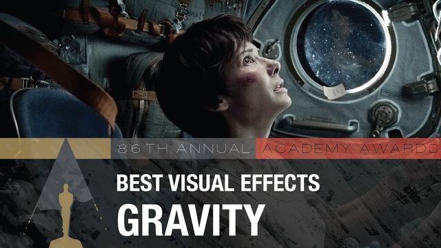 Лучшие визуальные эффекты «Гравитация»