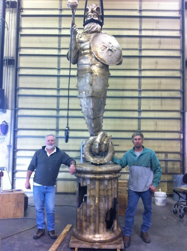 Для дайверов готовятся затопить рифовую статую