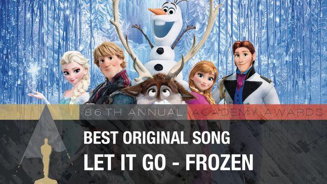 Лучшая песня к фильму Let It Go — «Холодное сердце»