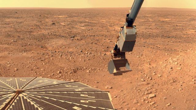 Найдены бактерии, которые способны выдержат климат Марса