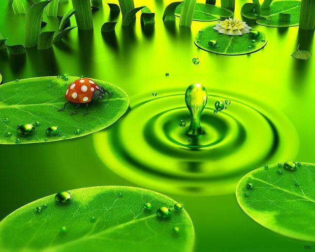 Как зеленый цвет может на нас влиять