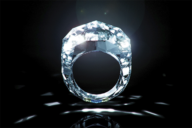 Самое бриллиантовое кольцо в мире