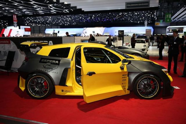 Sbarro Rally Car Concept