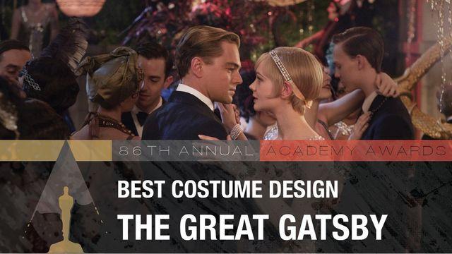 Лучший дизайн костюмов Кэтрин Мартин — «Великий Гэтсби»