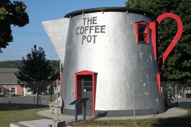 Кофейник для гигантов