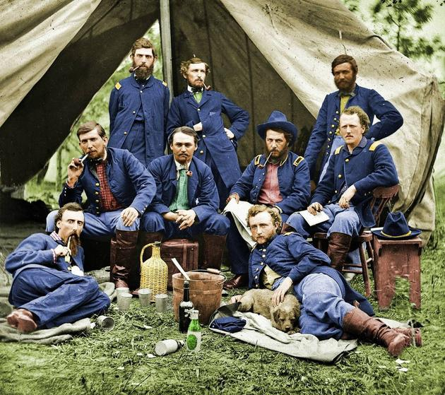 historical-photos-rare-pt2-lt-custer-troops-1862