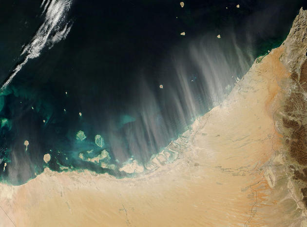 space-earth-photography-dust-uae-nasa