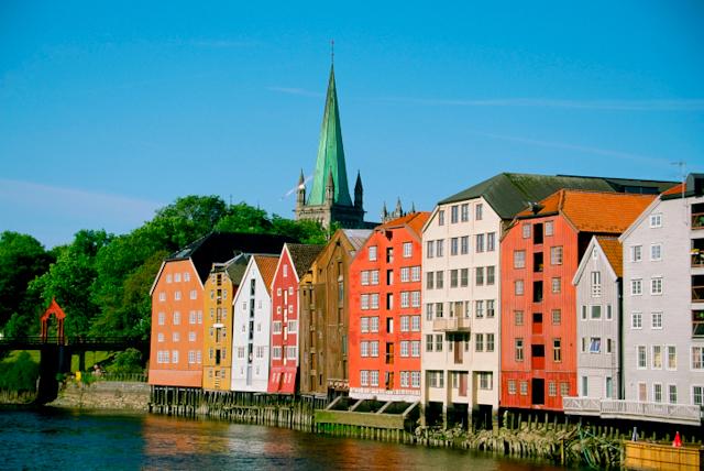 Норвегия, Тронхейм. Резиденция архиепископа