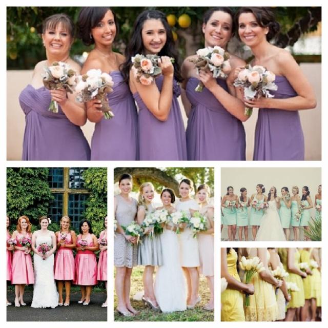 spring-bridesmaid-dresses-Collage