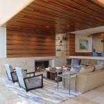 Ретро-калифорнийский дизайн домика с собственным пляжем