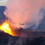 Эффектное извержение вулкана в Исландии: проснулся Бардарбунга