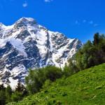 Красоты Домбая: кавказские горы и дикая природа