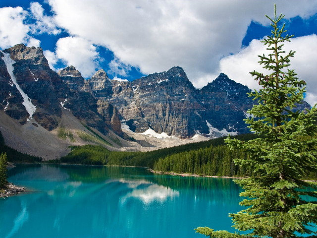 Mountains-lake-clouds-tree-forest-canada-nature-HD_1