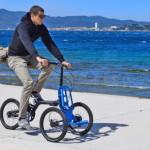 Инновационный велосипед для урбанистических шопперов