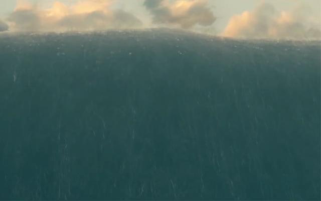 Гигантские волны планеты Миллер