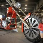 5-тонный мотоцикл от итальянца Фабио Реджиани