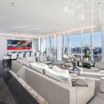 Потрясающий стеклянный пентхаус вНью-Йорке на 54 этаже небоскреба