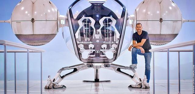 Daniel Simon / Bubbleship design for Oblivion