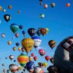 Мировой рекорд по единовременному запуску воздушных шаров