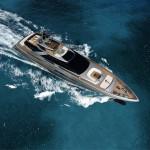 Супер-яхта Riva steel: дерзкий характер в покорении морей