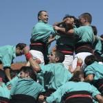 Соревнование кастелей в испанском городке Таррагона