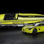 Самая быстрая моторная лодка на электричестве: от Mercedes-benz AMG+ cigarette racing