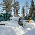 Лапландский отель Какслауттанен в Финляндии